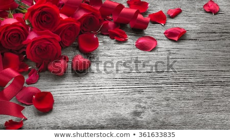 Wooden Rose Background Stock photo © THP