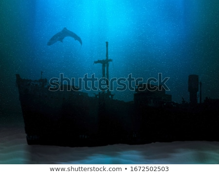 Sunk Ship Stock photo © blamb