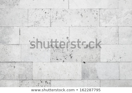 Maçonnerie mur Rock pierre blanche Photo stock © Leonardi