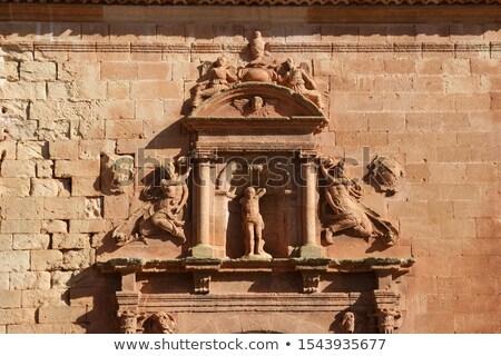 Château ruines anciens Espagne musulmans culture Photo stock © Procy