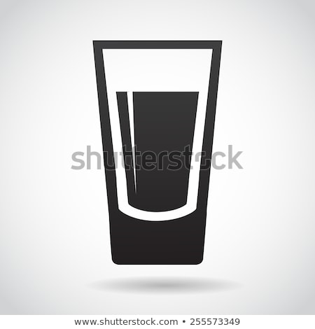 shot on glass Stock photo © gewoldi
