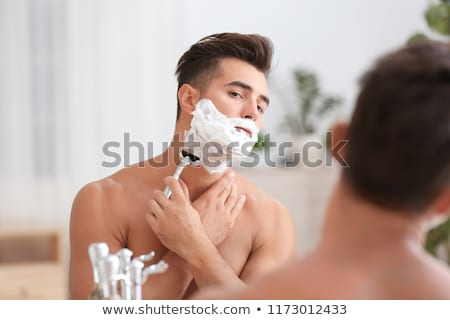 genç · adam · genç · kozmetik · yaşam · tarzı · kafkas - stok fotoğraf © ambro