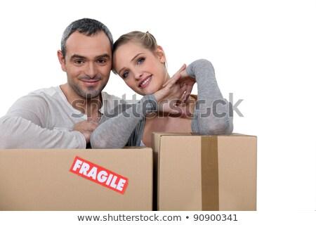 transporte · cartón · cajas · concepto · libros · ropa - foto stock © photography33