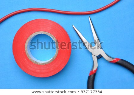 Electrician taping a wire Stock photo © photography33
