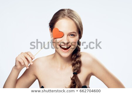 woman disguised for valentine's day Stock photo © photography33