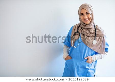 юго-восток азиатских медицинской врач стетоскоп стороны Сток-фото © szefei