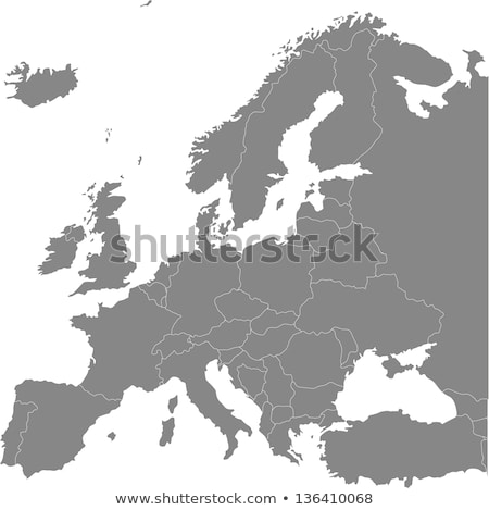 Map of Europe with Luxembourg Stock photo © Ustofre9