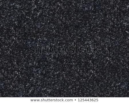 Seamless black granite texture Stock photo © ixstudio