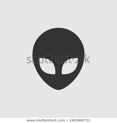 Alien Head Icon Stock photo © fizzgig