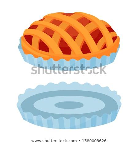 пирог плесень шпинат пироги белый кухне Сток-фото © stevanovicigor