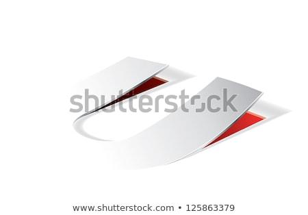 紙 手紙 観点 表示 ベクトル ストックフォト © archymeder