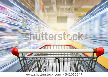 Shopping Carts in a Row stock photo © 805promo