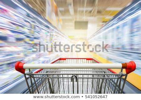 Stock fotó: Vásárlás · csetepaté · sok · kék · szürke · felfelé