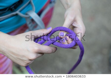 Figure Eight Knot Stock photo © danielbarquero