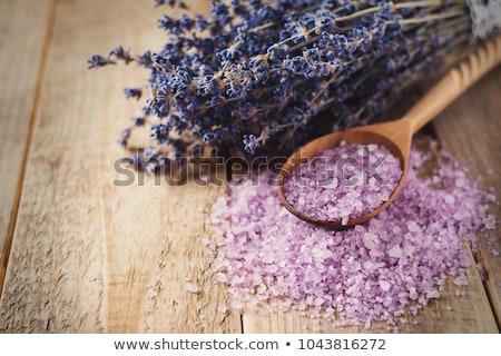 Lavanda olio da massaggio aroma terapia benessere Foto d'archivio © juniart
