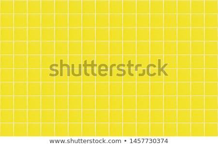 Sarı fayans modern duvar doku arka plan Stok fotoğraf © trgowanlock