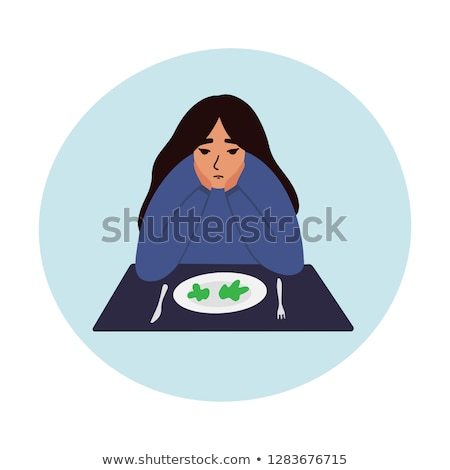 böjt · diéta · eszik · zűrzavar · táplálkozás · kalória - stock fotó © lightsource