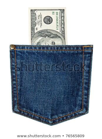 jeans · tasca · 100 · business - foto d'archivio © digitalmagus