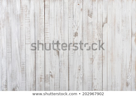 wood paneling old cracked paint Stock photo © fotoaloja