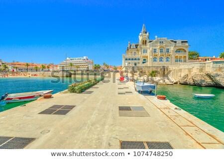 Pier promenade océan tarte côte mer Photo stock © rognar