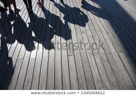 Pessoas caminhada Barcelona Espanha negócio água Foto stock © Nejron