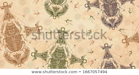 Escaravelho besouro Egito papel textura Foto stock © VectorFlover