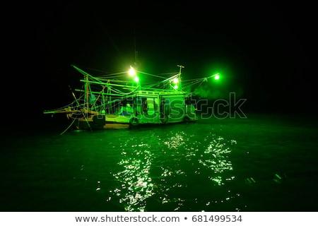 barco · lâmpada · navio · luz · cabo - foto stock © smithore
