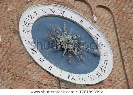 教会 クロック 古い スコットランド 時間 時計 ストックフォト © jeffbanke