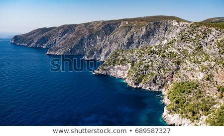 западной побережье Закинф Греция синий морем Сток-фото © Mps197