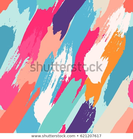 colorful background with brushstrokes of different colors Stock photo © nito