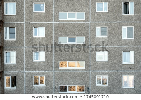 Old Soviet Block apartments Stock photo © 5xinc