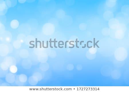 mauve · Blauw · mooie · roemeense · brunette · bikini - stockfoto © neirfy