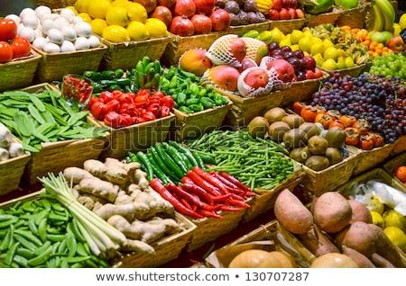 Fruit & Vegetable Market Stall Stock photo © smartin69