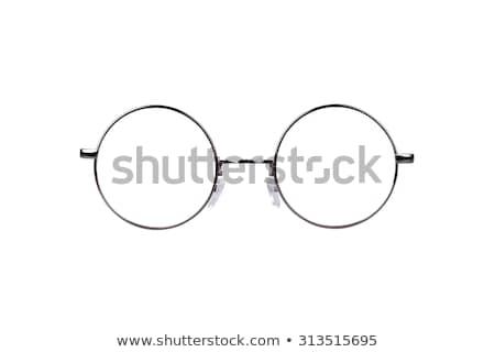 round-lens eyeglasses Stock photo © nito