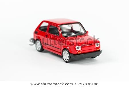 retro toy cars stock photo © oleksandro