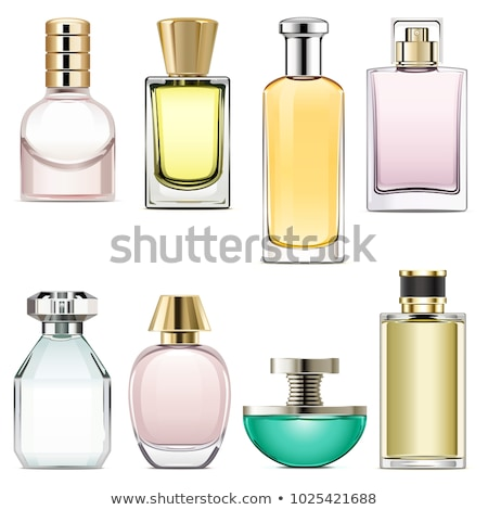Parfum bouteille floral parfum rose ornements Photo stock © beaubelle