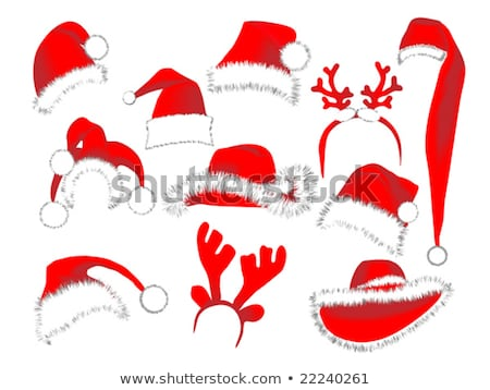 Digitalmente generado rojo sombrero blanco Foto stock © wavebreak_media