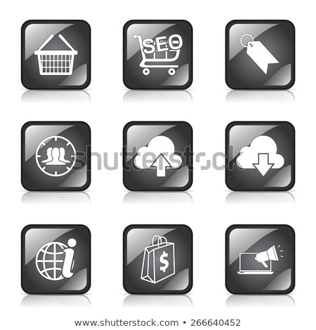Internet · Wolke · Tag · Symbol · Computer - stock foto © rizwanali3d