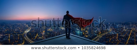 Super hero concept business Stock photo © fuzzbones0