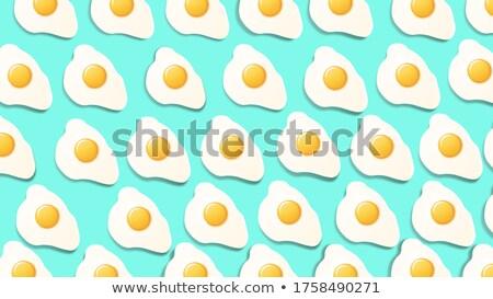 Büyük numara beyaz yumurta gıda arka plan Stok fotoğraf © flariv
