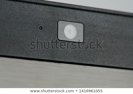 Háló kamera közelkép izolált fehér film Stock fotó © shutswis