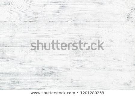 Zdjęcia stock: Sosny · pokładzie · malowany · szary · szary
