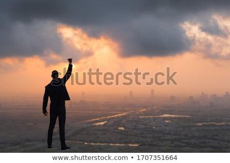 Power of brave businessman Stock photo © alphaspirit