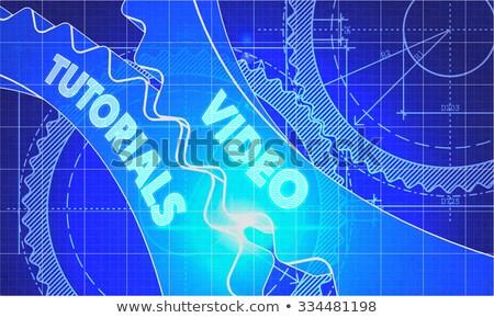 Video planı stil mekanizma teknik Stok fotoğraf © tashatuvango