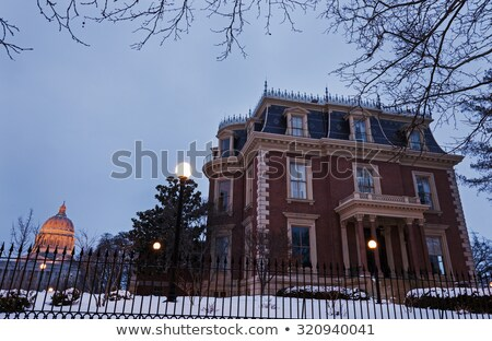 Missouri Governor´s Mansion Stock photo © benkrut