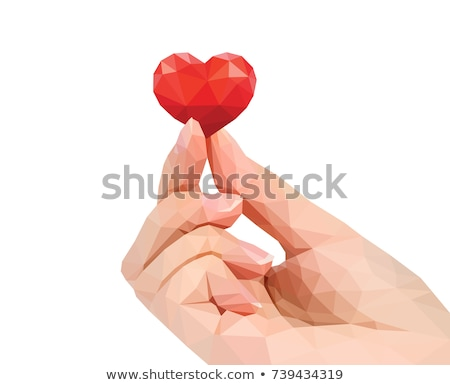 休日 カード 幸せ バレンタインデー 赤 中心 ストックフォト © UrchenkoJulia