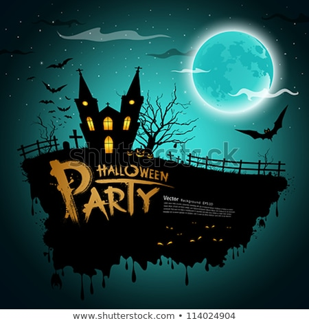 grunge halloween background eps 10 stock photo © beholdereye