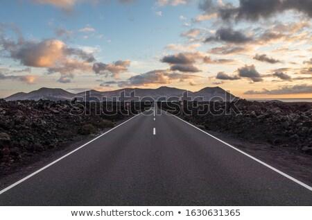 drogowego · wyspa · krajobraz · górskich · niebieski - zdjęcia stock © digifoodstock