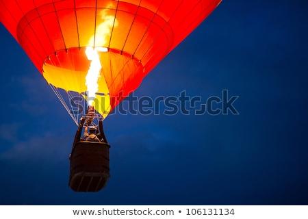 A Hot Air Balloon burners Stock photo © meinzahn