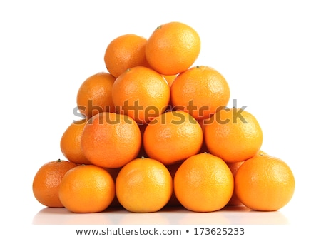 Stack of mandarines Stock photo © hamik